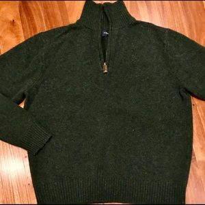 J Crew 1/2 zip sweater